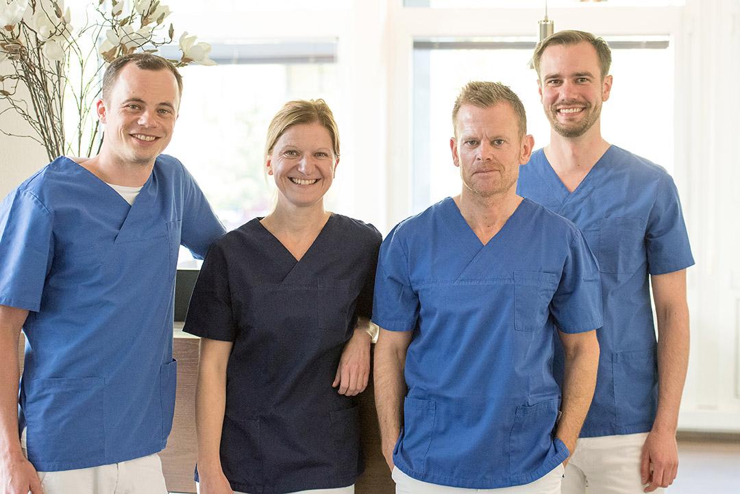 Dr. Daniel Ferrari | Dr. Anette Schaeben | Dr. Mark Jentsch | ZA Karl Niepagenkemper